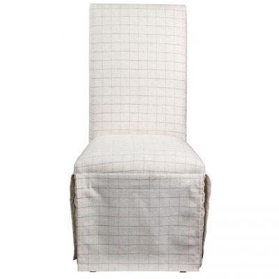 Riverside Rosemoor Burnt Caramel Upholstered Slip Cover Chair