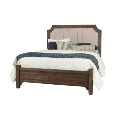 Vaughan Bassett Bungalow Full Upholstered Bed in Folkstone