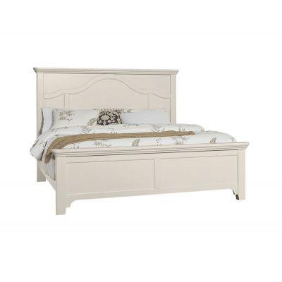Vaughan Bassett Bungalow Queen Mantel Bed Bungalow in Lattice