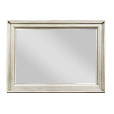 American Drew Litchfield White  Landscape Mirror