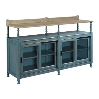 American Drew Litchfield Blue Dorest Credenza