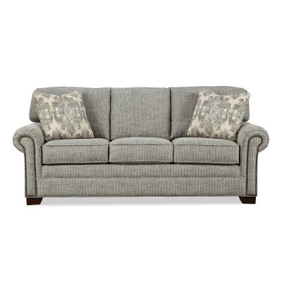 Nitro 86 Inch Traditional Three seater Sofa Couch