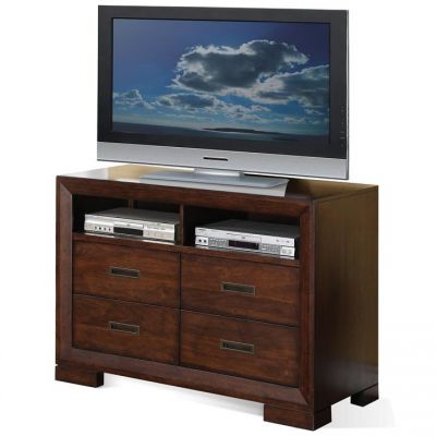 Riata Warm Walnut Media Chest