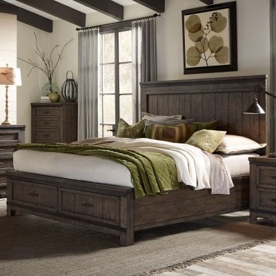 Liberty Furniture Thornwood Hills Storage bed