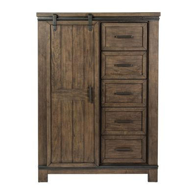 Liberty Furniture Thornwood Hills Sliding Door Chest
