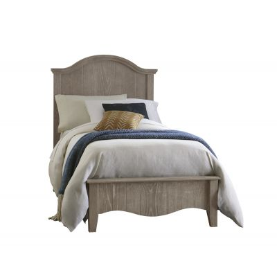 Vaughan Bassett Casual Retreat Twin Arch Bed in Driftwood