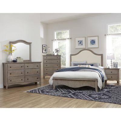 Vaughan Bassett Casual Retreat Upholstered Bed