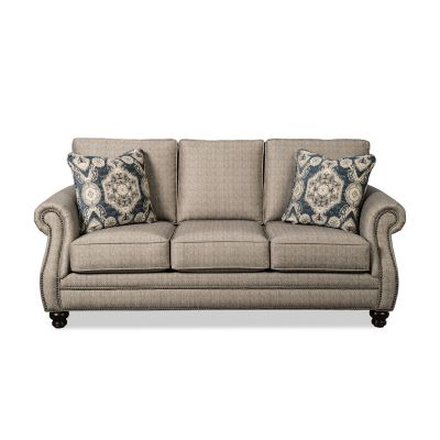 Tipsy  Classic Traditional Three Seater Sofa Couch