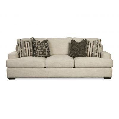 Teal Modern Cream Sofa