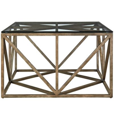 Authenticity Truss Square Coctail Table Glen Rock
