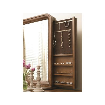 New Lou Vertical Storage Mirror Englewood Cliffs