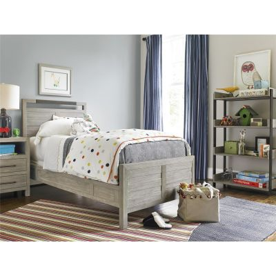 Scrimmage Twin Panel Platform Bed Washington Township