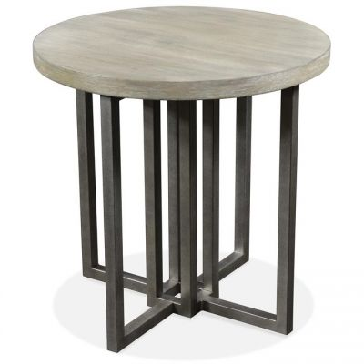 Riverside Adelyn Round Side End Table