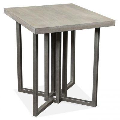 Riverside Adelyn Rectangular Side End Table