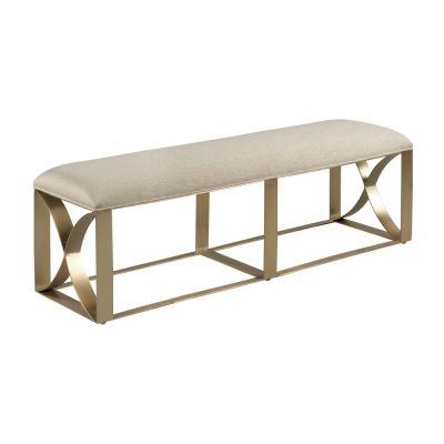 American Drew Lenox Beige Bench