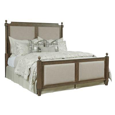 American Drew Anson Brown Sunderland Upholstered King Bed