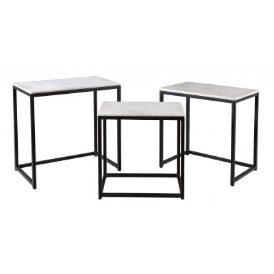 93413 Set of Three Nesting Tables Bergenfield