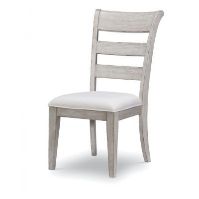 Legacy Classic Belhaven Weathered Plank Ladder Back Side Chair