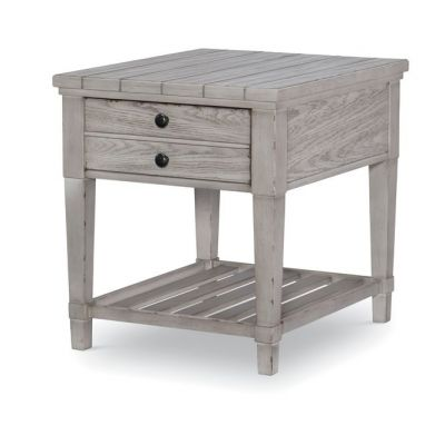 Legacy Classic Belhaven Weathered Plank End Table
