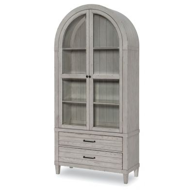 Legacy Classic Belhaven Weathered Plank Display Cabinet