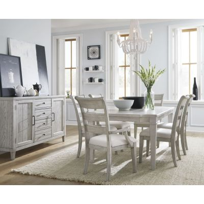 Legacy Classic Belhaven Weathered Plank Dining Room Set
