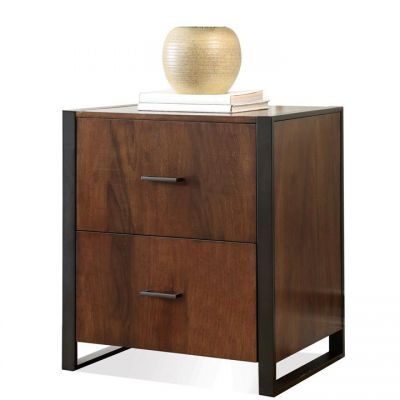 Terra Vista Casual Walnut File Cabinet