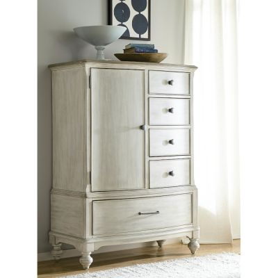 American Drew Litchfield White Calvin Door Chest
