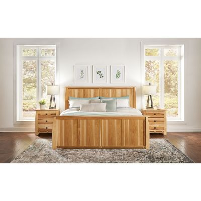 Adamstown Natural Panel Bed