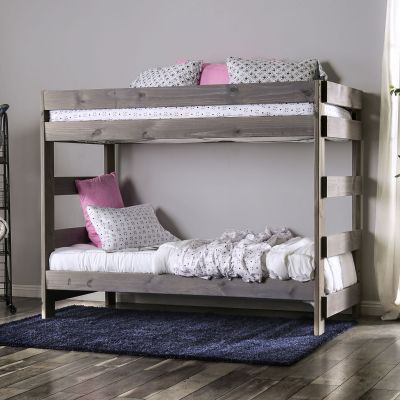 Arlette Twin over Twin Bunk Bed Oradell