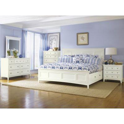 Kentwood Creamy White Storage Bedroom Set