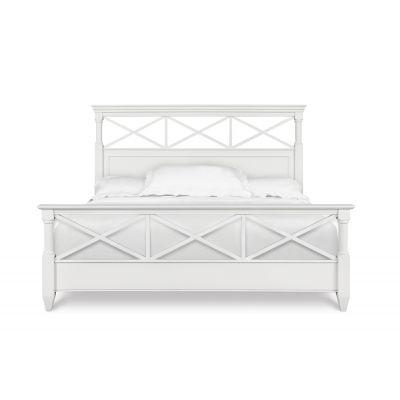 Kasey White Bed