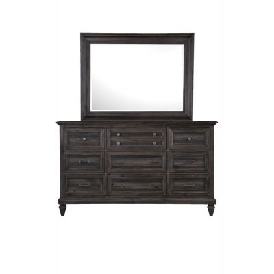 Calistoga Charcoal Dresser Mirror