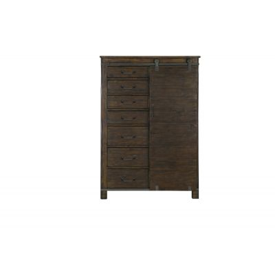 Pine Hill Rustic Pine Door Chest