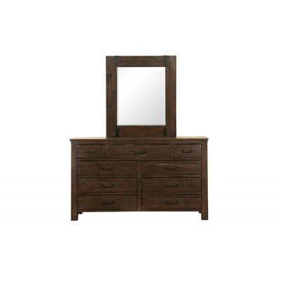 Pine Hills Rustic Pine Portrait Mirror