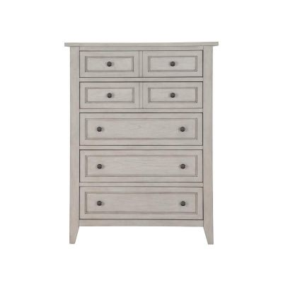 Raelynn Weathered White Drawer Chest