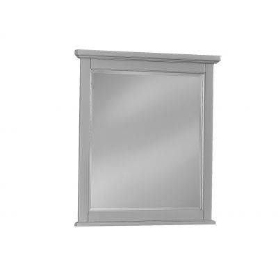 Vaughan Bassett Bonanza Studio Mirror in Gray
