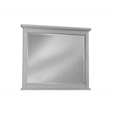 Vaughan Bassett Bonanza Landscape Mirror in Gray