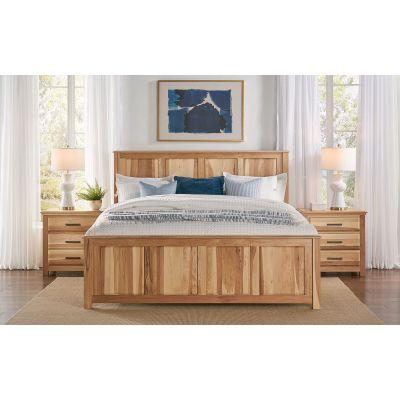 Camas Natural Queen Panel Bed