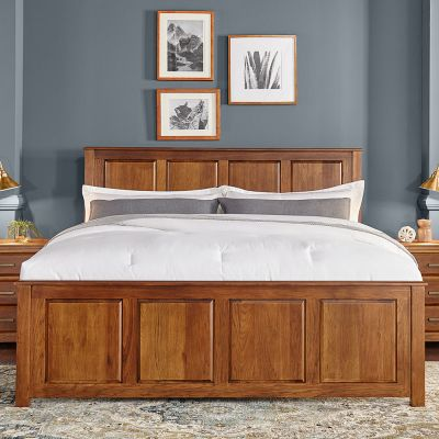 A-America Camas Panel Bed