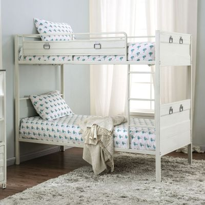 Mccredmond Twin over Twin Bunk Bed Fort Lee