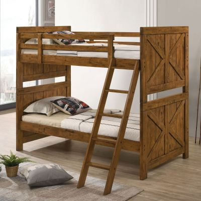 Amidon Twin over Twin Bunk Bed Fair Lawn
