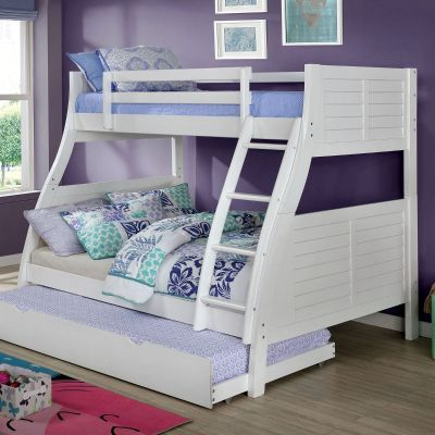 Hoople Triple Twin over Full Bunk Bed Franklin Lakes