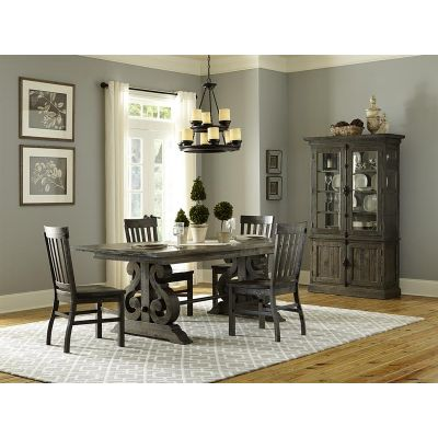 Bellamy Peppercorn Extendable Dining Room Set