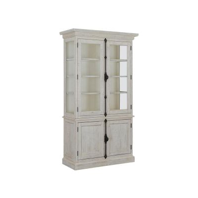 Bronwyn Antique White China Cabinet