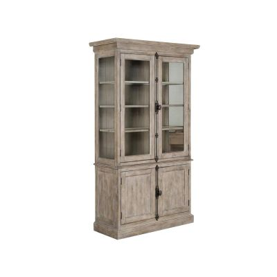 Tinley Park Dove Tail Grey China Cabinet