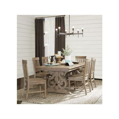 Tinley park Dove Tail grey Extendable Dining Room Set