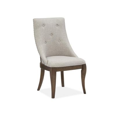 Roxbury Manor Dining Arm Chair with upholstered Seat  and Back set of 2