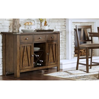 Eastwood Gunsmoke Gray Dining Room Server