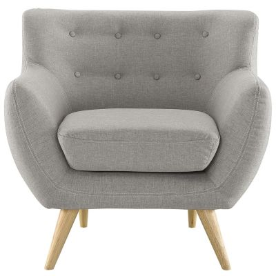 Marka Upholstered Fabric Armchair