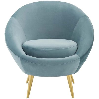 Sera Performance Velvet Accent Chair